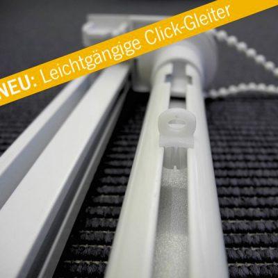 Teba Raffrollotechnik Leichtgängige Click-Gleiter